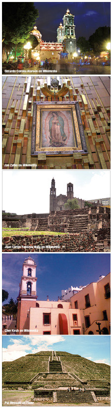 Learn about the faith and culture of Mexico by visiting important sites.