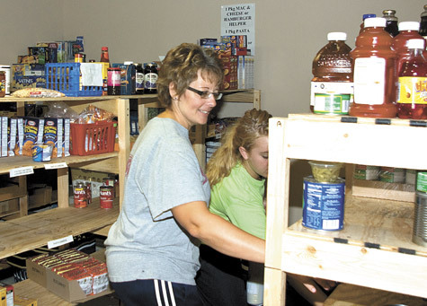 Food pantry steps in to help local people 39living on the for St vincent de paul food pantry rogers ar