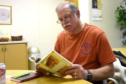 David Mounsey offers thoughtful insights about the latest book the St. Edward Book Club is reading. Fran Presley photo