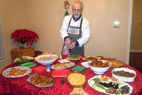 Feast of the seven fishes weaves together generations for Christmas eve fish dinner