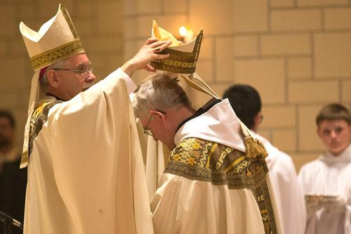 Bishop Blesses New Abbot With Mass At Subiaco Abbey