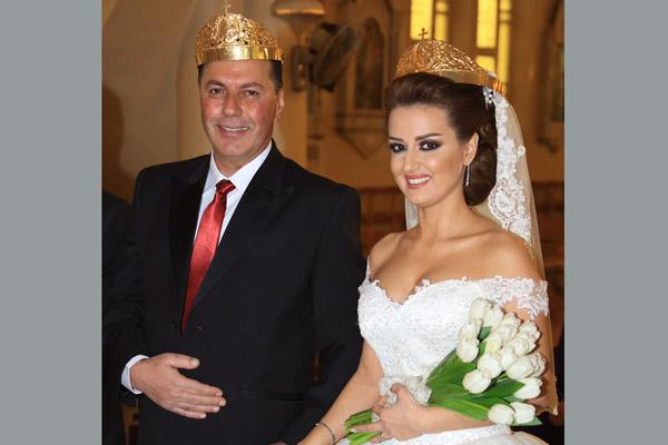 Sam and Manal were married Jan. 16, 2016, at a Greek Orthodox church in Damascus, Syria.