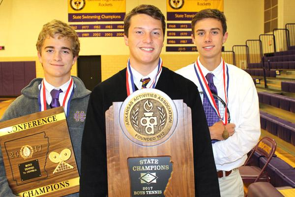 Game, Set, Unmatched: Rocket trio lands threepeat at state