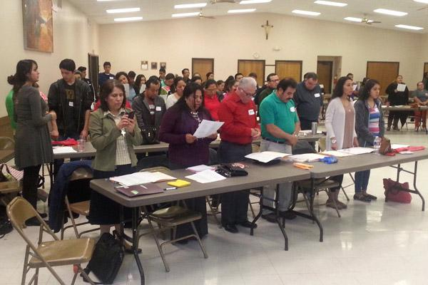 Catholics met at St. John Church in Russellville to participate in the V Encuentro program. The nationwide initiative by the United States Conference of Catholic Bishops is focused on evangelization, particularly in the Hispanic and Latino communities. (File photo)