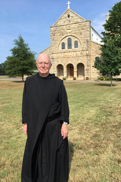 Retired Father Hugh took on his first parish assignment - Arkansas