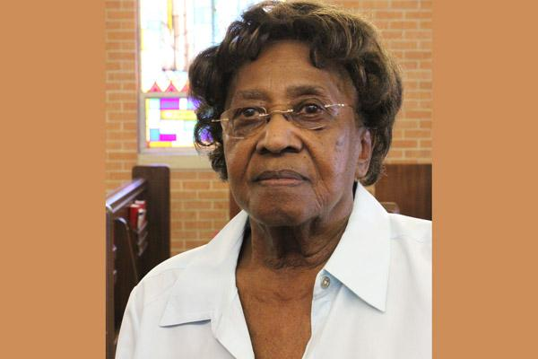 Tereze Harris was honored with the Daniel Rudd Award from the Diocesan Council of Black Catholics. Harris is shown in her home church, St. Mary in McGehee, in this 2013 file photo. She was unable to attend the Jan. 19 Martin Luther King Jr. Mass in Little Rock to receive the award in person. (Arkansas Catholic file photo by Dwain Hebda)
