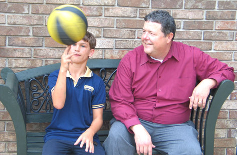 They plan to attend the diocesan Father-Son Chastity Program in December.